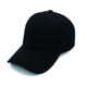 wholesale China Cheap Outdoor Adjustable Plain Custom Blank Black Baseball Cap Without Logo,mens baseball caps