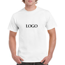Cheap Price 180gsm 100% Cotton Custom LOGO Printing Plain White T shirts for Men