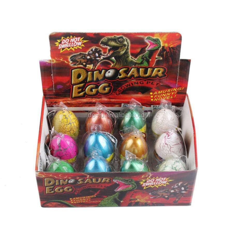 3 x Grow Aliens Egg with Alien Figure Magic Growing in Water Alien Hatching Eggs