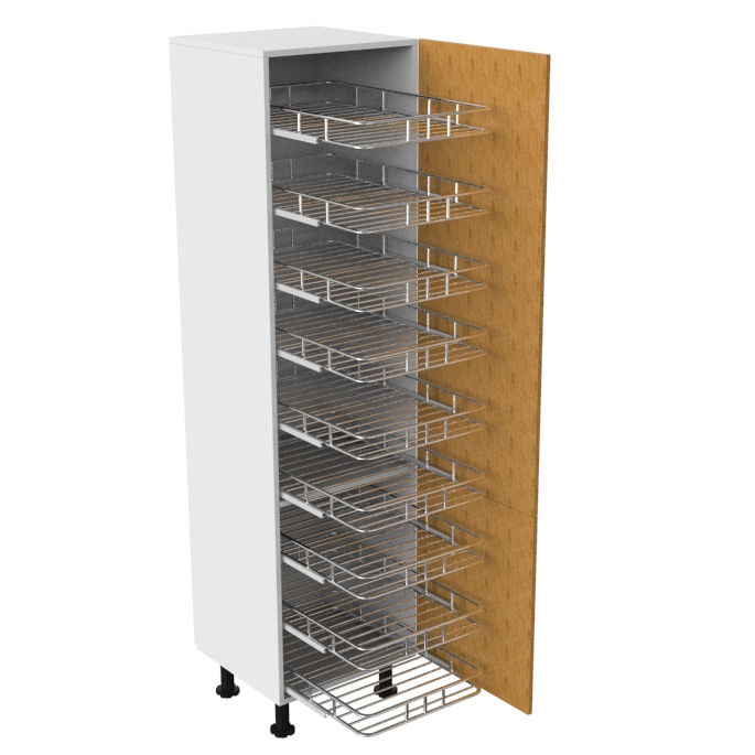Vermonhouzz Good Quality Hot Sale Kitchen Organizer Tall Unit Pull Out Pantry Basket