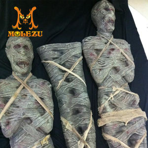 Molezu Hot Selling China Producten Tuur Horror Props Latex Mummie Voor Festival Halloween Viering