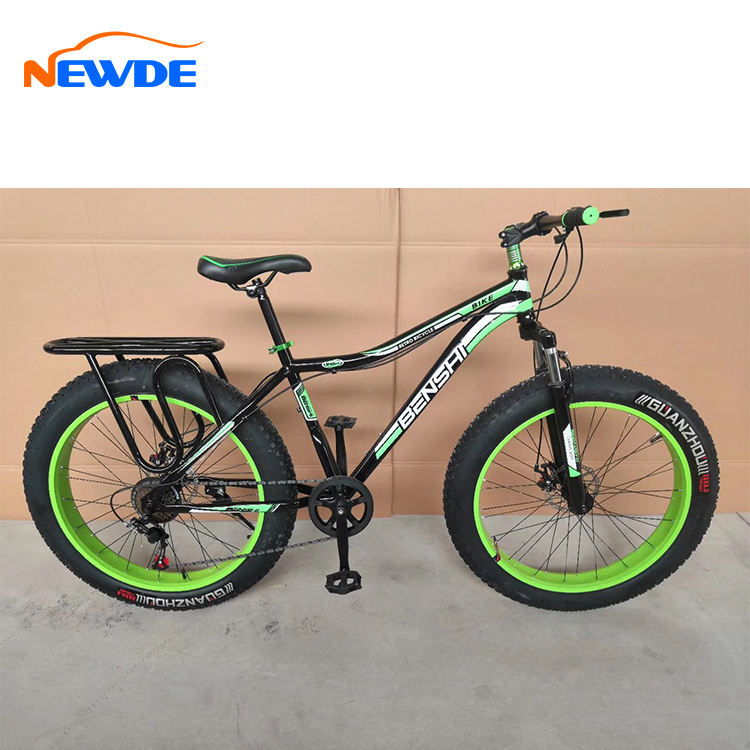Good Price Top Quality New Fat Tyre Bike with Wheelset/26x4.9 tires Fat Bike Sale