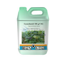 High Quality Pesticide Fungicide Cyazofamid 100 g/l SC Supplier liquid copper fungicide