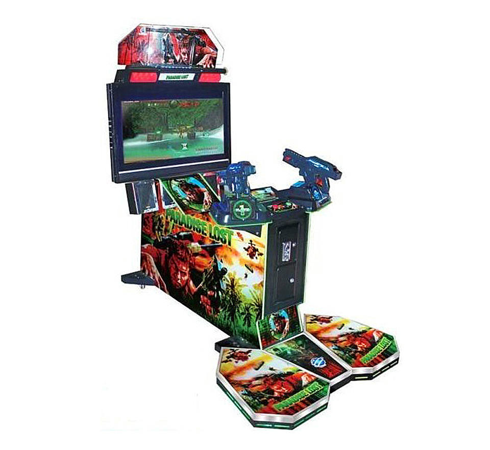 Nieuwste Arcade Simulator <span class=keywords><strong>Schieten</strong></span> Alien Gun Shooting Game Machine