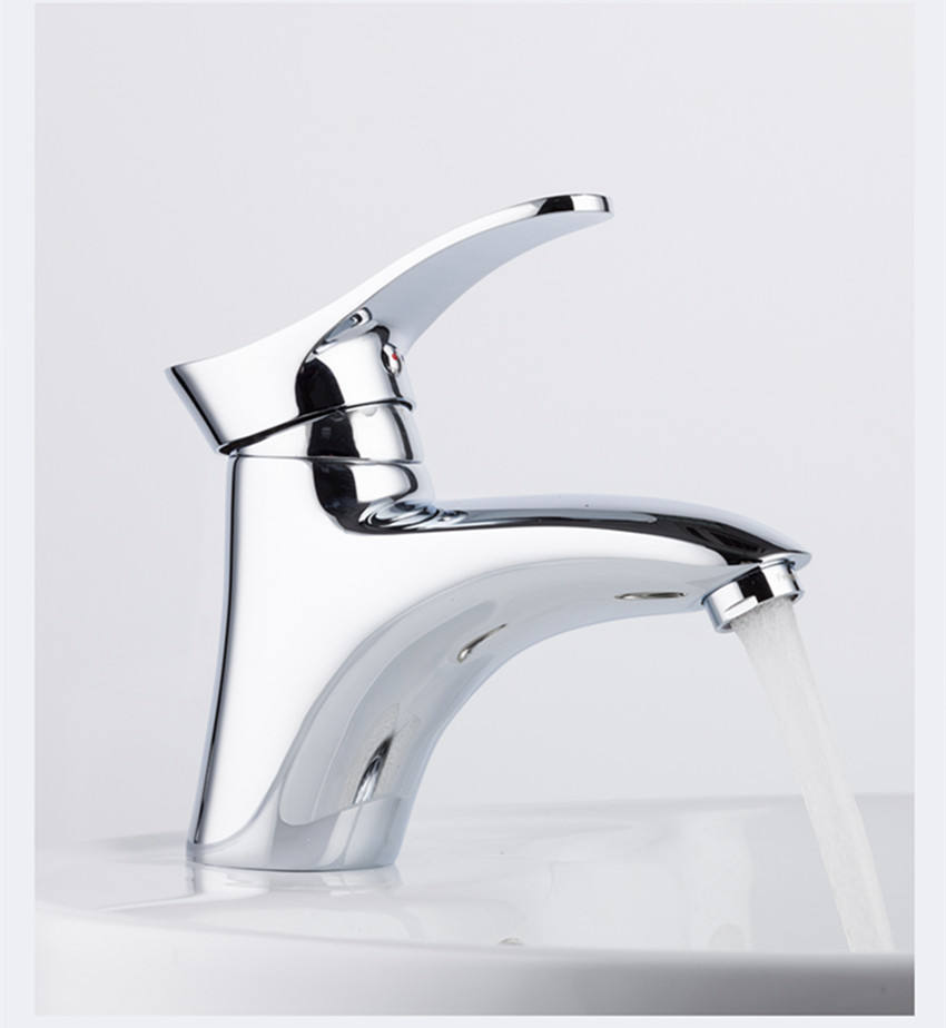 Sanitary ware brass tap single handle Bathroom mixer basin faucet