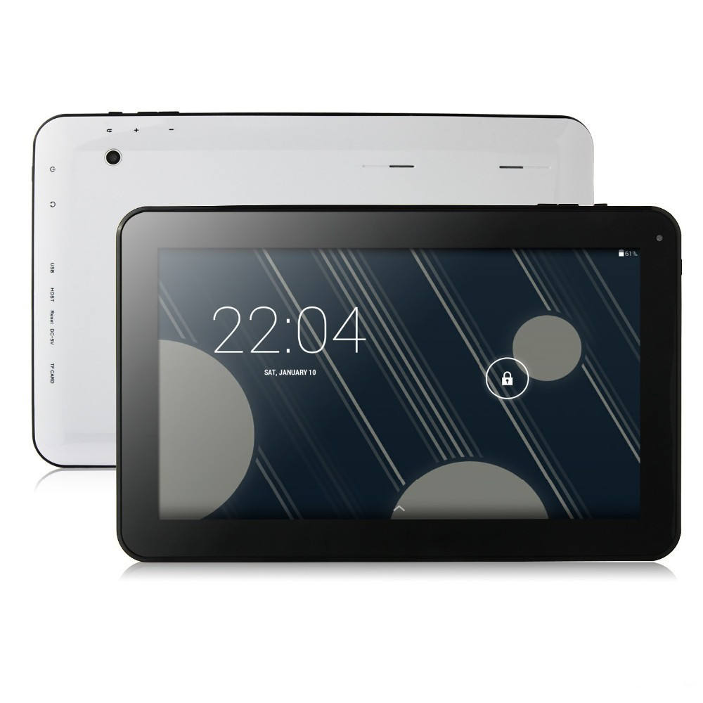 Hohe Qualität 10,1 Zoll Android Tablet PC Quad Core <span class=keywords><strong>Allwinner</strong></span> A33 1 GB Ram 16 GB Wifi, Bluetooth, micro USB Host, Dual Kameras