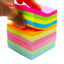 Amazon Hot sale sticky note pad 3x3 inches 10 colors Sticky Notes custom logo print sticky note