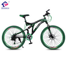 26 Inch aluminum mountain bicycle/sport 21 SP full suspension mountain bike/carbon fiber MTB
