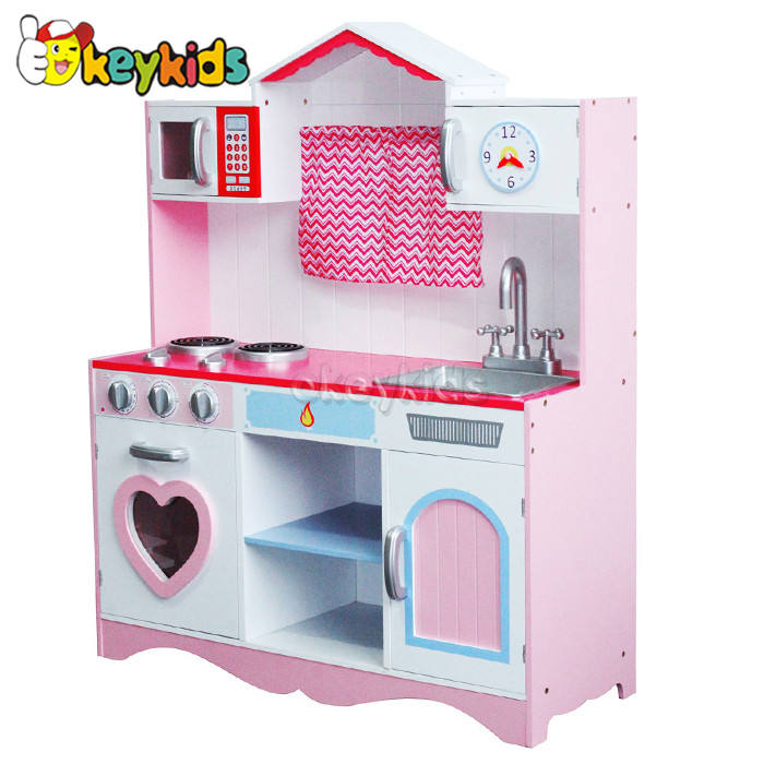 2016 wholesale baby wooden kitchen toy, cheap kids wooden kitchen toy, best sale children wooden kitchen toy W10C162