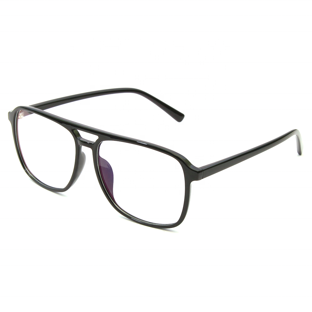 SKYWAY Ready Made Tr90 Ultra-Light Glasses Custom Unisex Classic Black Tr-90 Eyeglass Frames