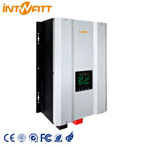 Heavy duty low frequency Hybrid inverter 10kw with lithium battery charge