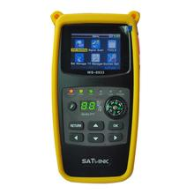 Genuine Satellite Finder Meter Satlink WS-6933 DVB-S2 FTA C&KU Band Digital Receiver
