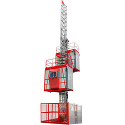 SC200/200 Two cages Construction hoist 2000kgs price
