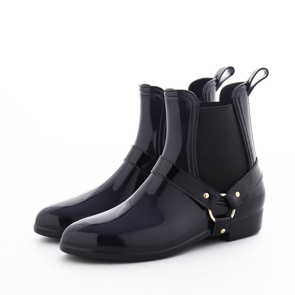 Al Por Mayor Las Mujeres Corta Bota De Lluvia De Mujer De Lluvia De Pvc Zapatos De Las Mujeres Tobillo Botas De Lluvia De Pvc Buy Botas De Lluvia De