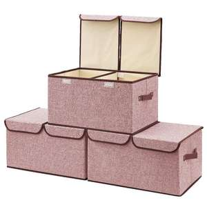 Multi-fonction 방수 Cute eco cube 비 짠 foldable toy storage boxes 와 촛불 항아리