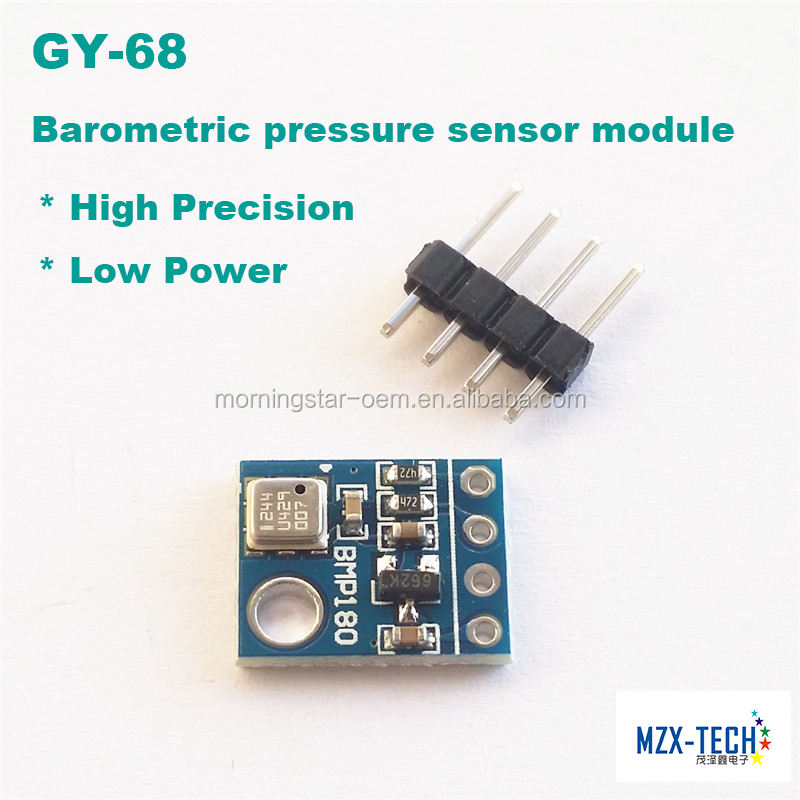 GY-68 BMP180 3.3V//5V BOSCH Temperature Module Barometric Sensor Replace BMP085