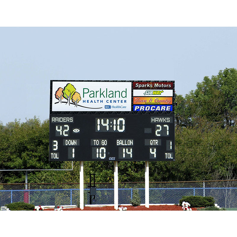 electronic billboard scoreboard /football led screen P10 outdoor for advertising