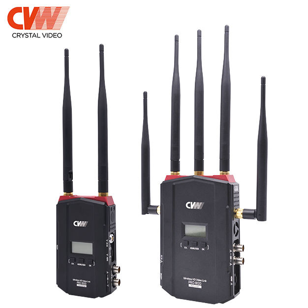 long distance PRO800 wireless HD multifunctional wireless video transmitter and receiver kit 800m/2400ft SDI&Hdmi interfaces