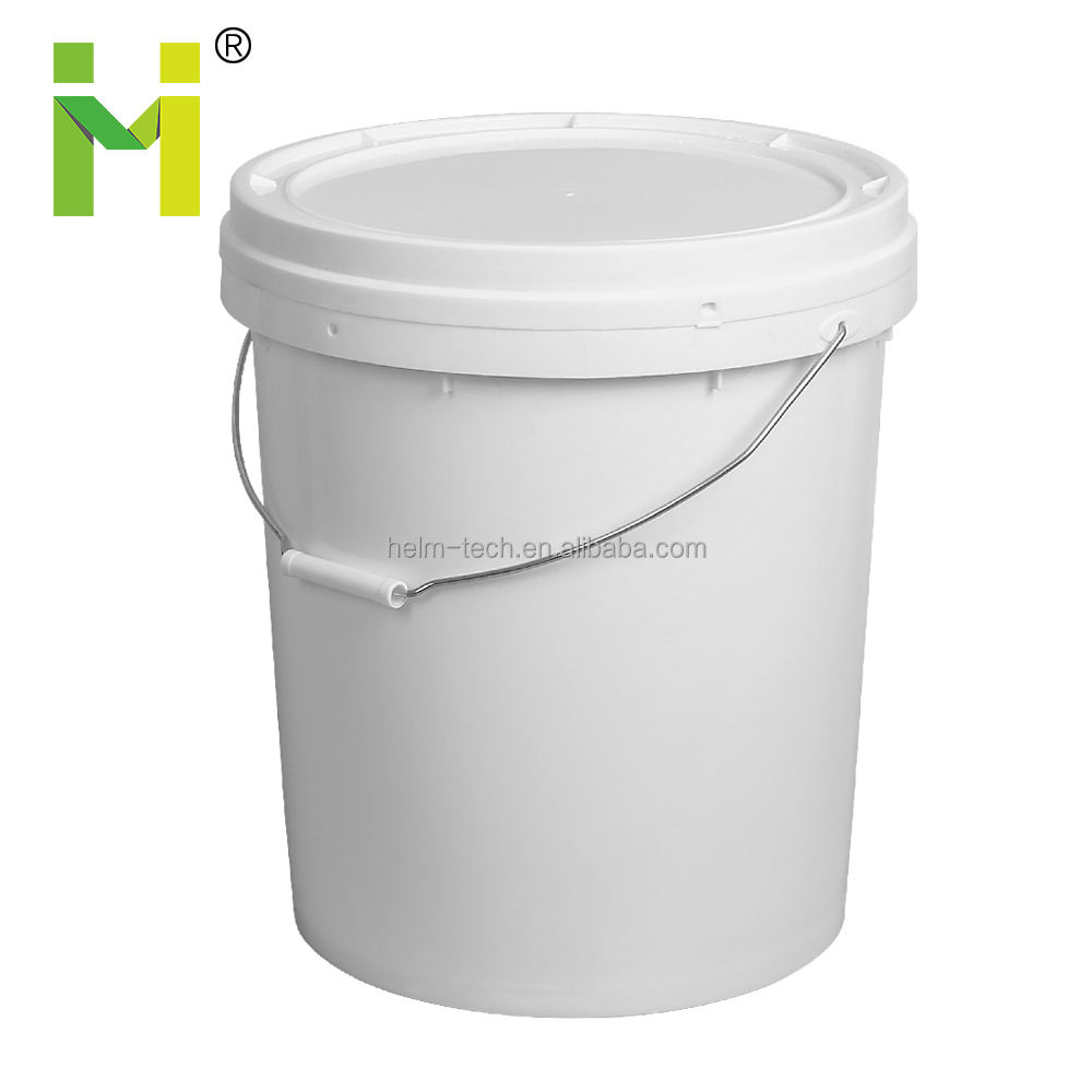 25L Plastic Bucket with Metal Handle And Lid