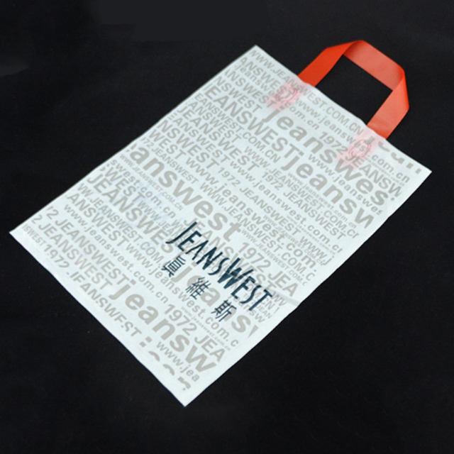 Walmart & <span class=keywords><strong>Avon</strong></span> Audit di Fabbrica fornitore di plastica biodegradabile shopping bags con maniglia di patch