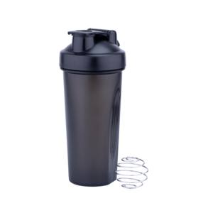 Wholesale Classic Loop Top Shaker Sports Water Bottle, Recycled Plastic BPA Free Gym Protein Shaker Bottle*