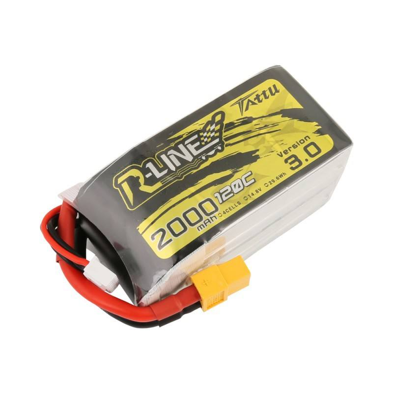Tattu R-Linie Version 3,0 V3 1300 1550 1800 2000mAh 120C 4S 14,8 V Lipo Batterie XT60 stecker Für FPV Drone RC Quadcopter