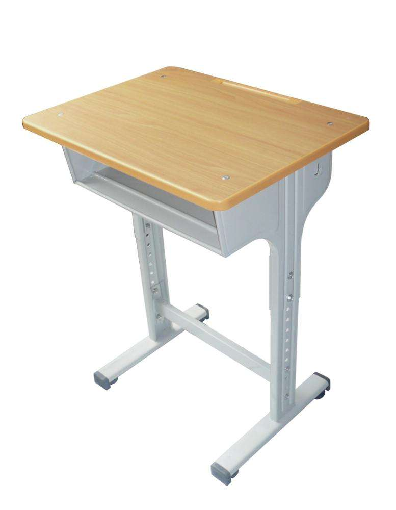 Modern cheap primary university classroom adjustable ergonomic student school desk and chair