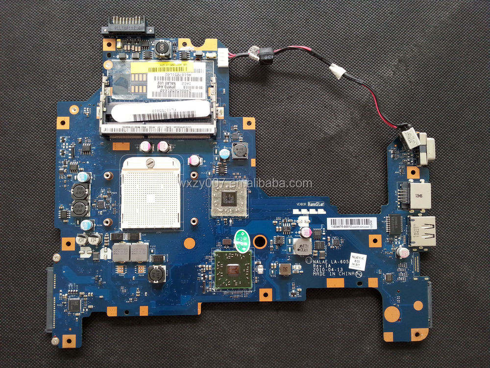 High quality Laptop Motherboardfor Toshiba L670D L675D K000103980 LA-6053P notebook laptop motherboard fully tested