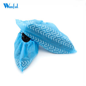 Protective Anti Skid Disposable Non Woven Waterproof Shoe Covers