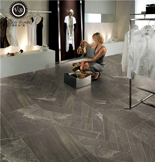 stone matte finish anti-slip porcelain tile hard floor tile