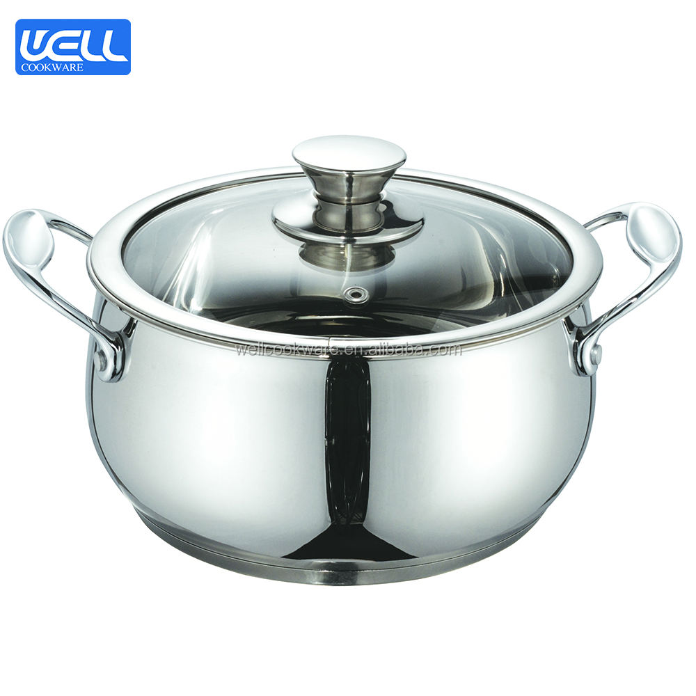 ECO Friendly Stainless Steel Sauce stockpot Cookware Set