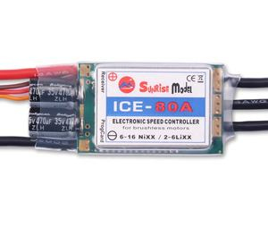 ICE 80A 6S helicopter ESC airplane electronic speed controller factory in China