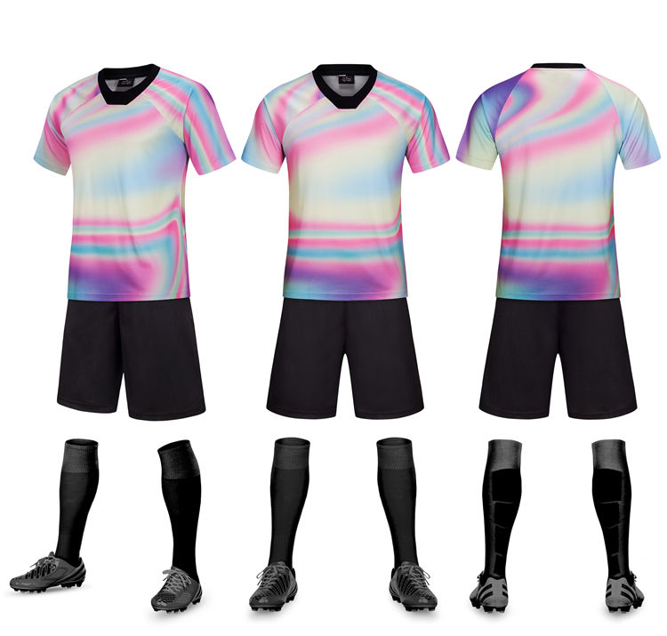 Custom Made 2019 Voetbal Uniformen Voetbal Kits Trainingspak Voetbal Jersey