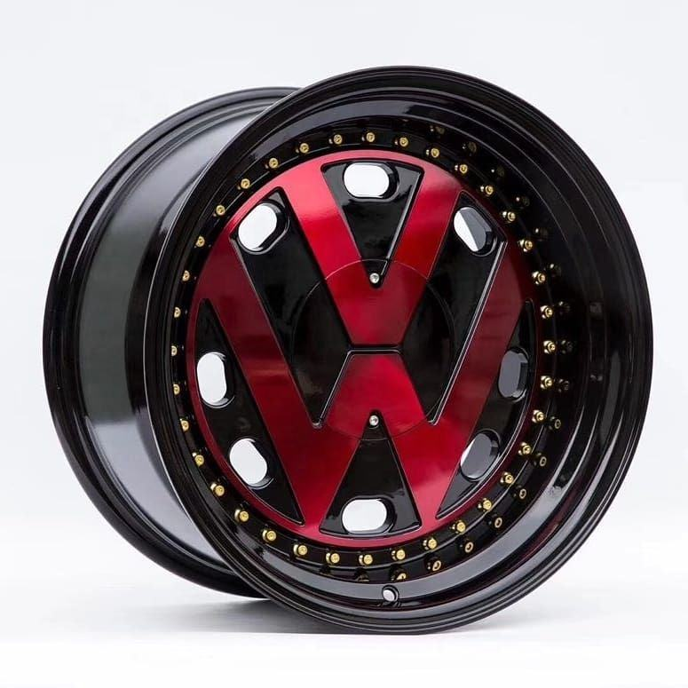 China 16,17inch alloy 4x4 rims with high quality for VW