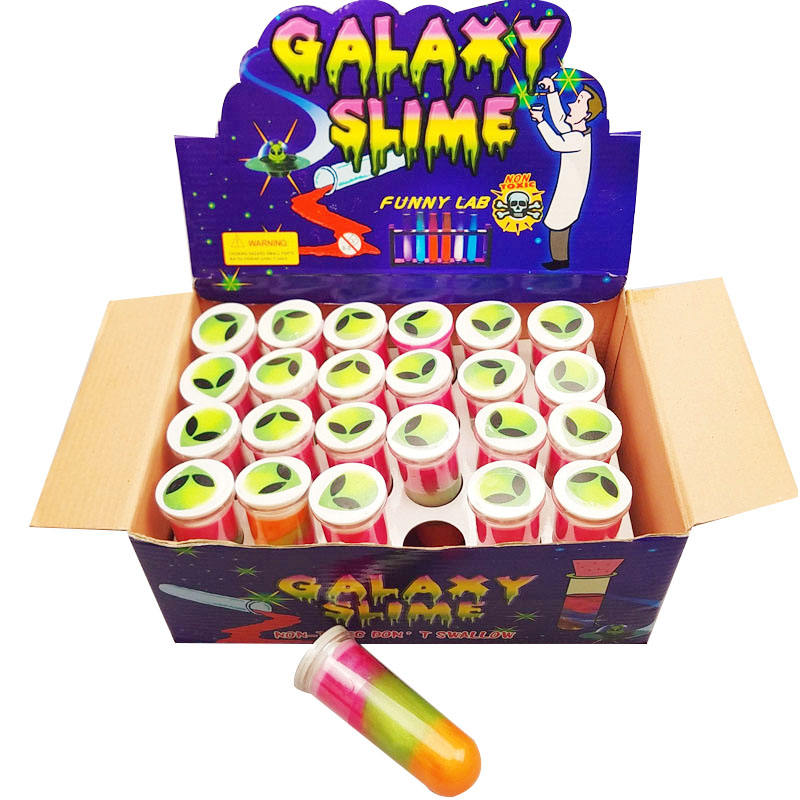 Galaxy Test Tube Slime Putty Toys For Children 37*100MM