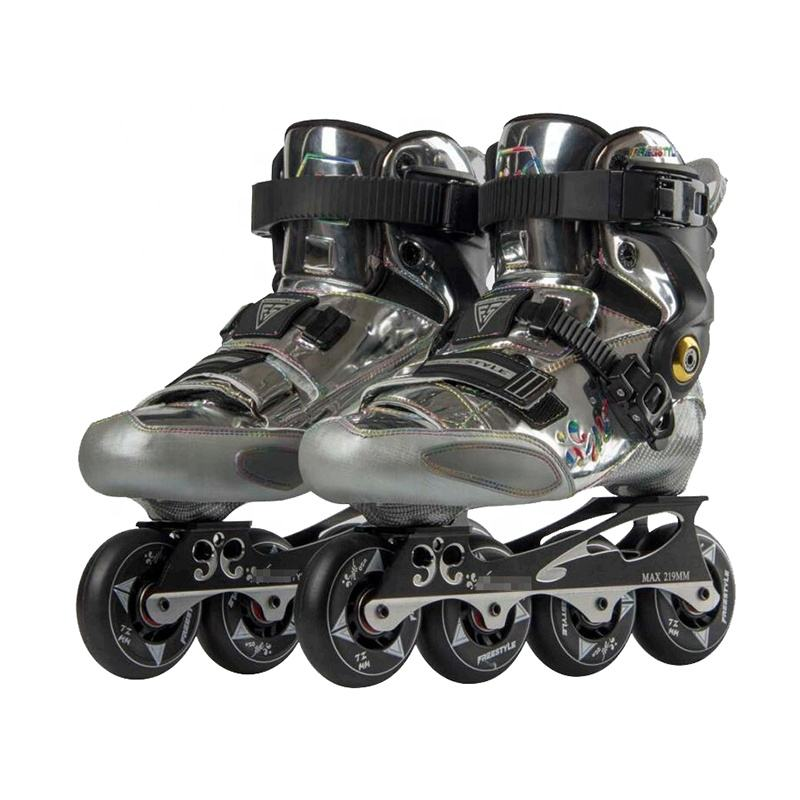 Upscale freestyle custom professionele <span class=keywords><strong>inline</strong></span> platte speed racing <span class=keywords><strong>skates</strong></span>