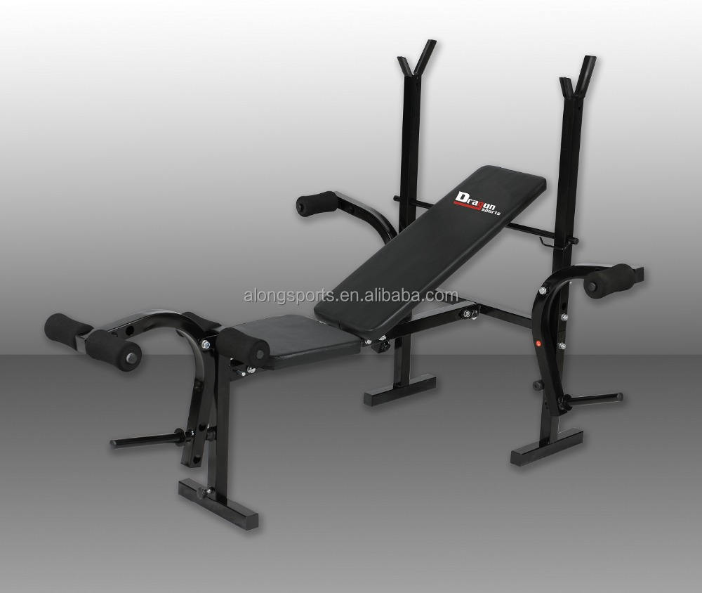 High Quality Foldable Weight Bench strength tube bench W282A