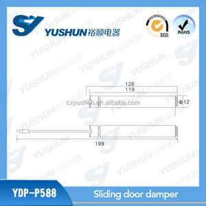 12mm Small Piston Air Pump Adjustable Damper Gas Spring Cylinder Damper For Sliding Door