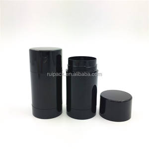 cosmetic AS deodorant stick container 30g 50g 75g cylinder deodorant tube packing