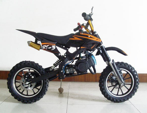 Cheap Kids Used 49CC ax100 Dirt Bike