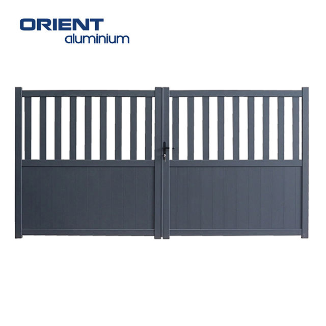 Aluminium cantilever gate indian house main gate designs steel gate design