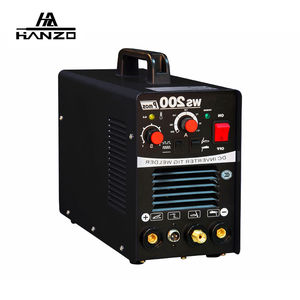 Welder WS-200 Pulse Inverter TIG AC DC Welding Machine Mosfet 220V Argon Welding Equipment
