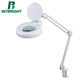 Hottest selling magnifying working lamp LED Magnifier glass with light Beauty lamp for facial nail tattoo
