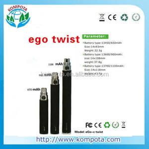 Großhandel ego c twist batterie e cig variabler spannung ego c twist batterie