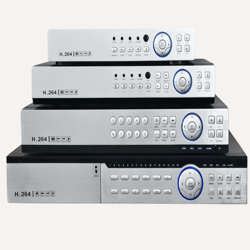 1080P hybrid HD-AHD 16 channel XM chipset dvr