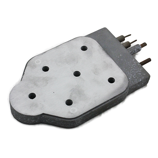 Die casting heating element for electric iron parts
