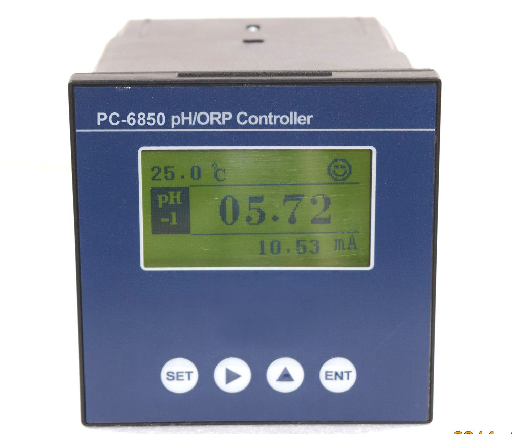 Graphic Customization Ph Controller Double Channel Orp/ph Controller With Sensor PC-6850