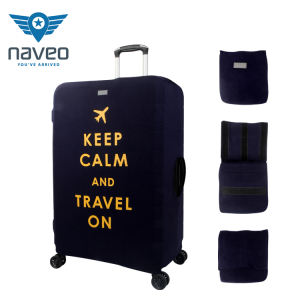 Fashion Protective Suitcase Cover Wholesale Travel Custom Luggage Cover Canvas Fabric Luggage Cover