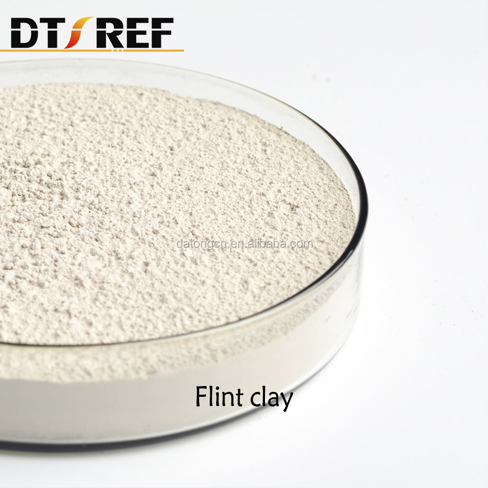refractory bauxite calcined kaolin Flint Fire Clay For Refractory Brick