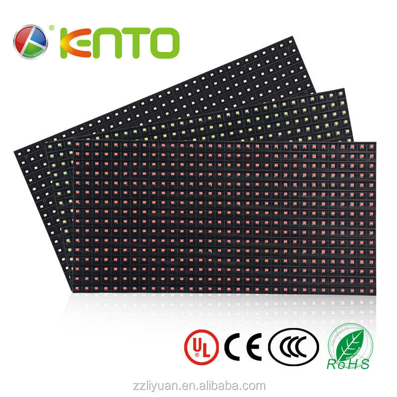 10mm Pixels and Outdoor Usage p10 led display screen module